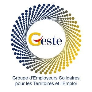 Groupe d'Employeurs Solidaires pour les Territoires et l'Emploi, logo.