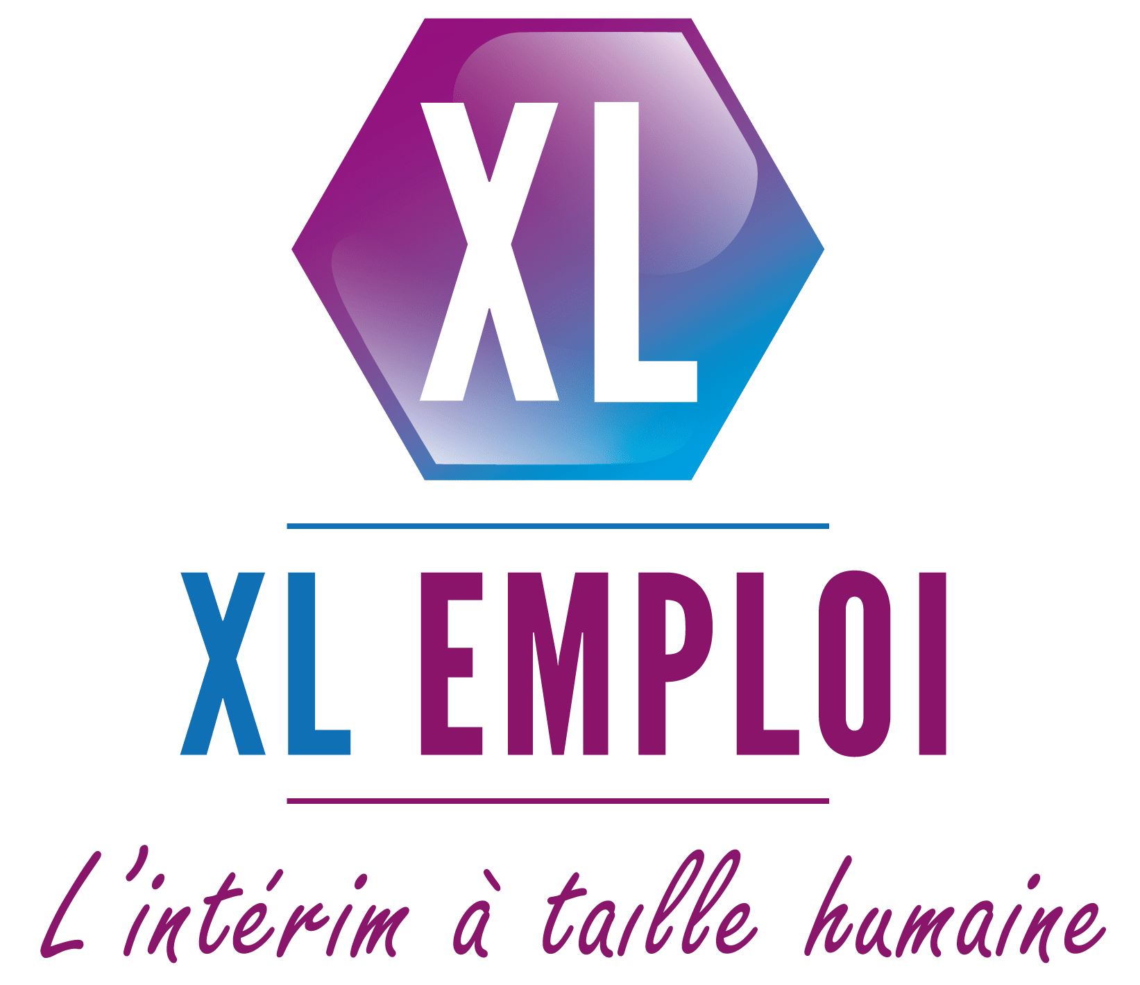 XL EMPLOI, logo transparent.