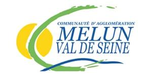 Communauté d'agglomération de Melun Val de Seine, logo.