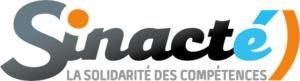 SINACTE, logo. Partenaire de solutions pour l'emploi.