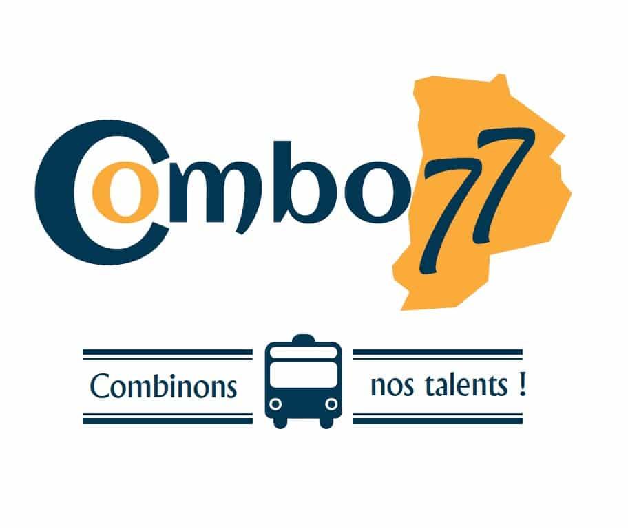 Combo77, Logo. Partenaire de solutions pour l'emploi.