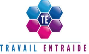 TRAVAIL ENTRAIDE, logo.