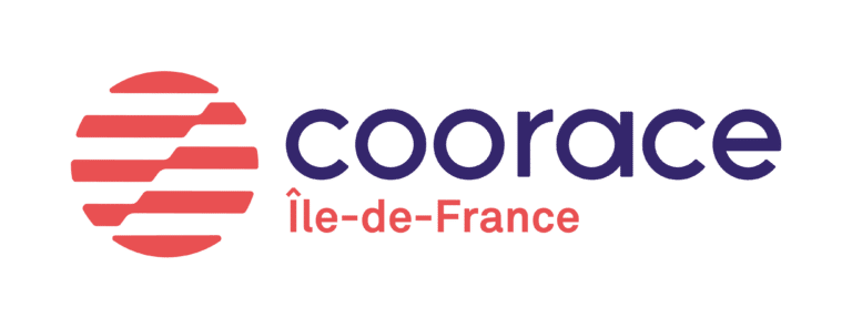 Coorace Île-de-France, logo.